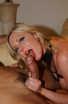 Hot blonde MILF anal and facial